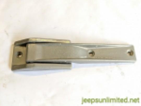 Rear Tailgate Hinge Upper or Lower Silver Color 97-04 TJ LJ 55075567