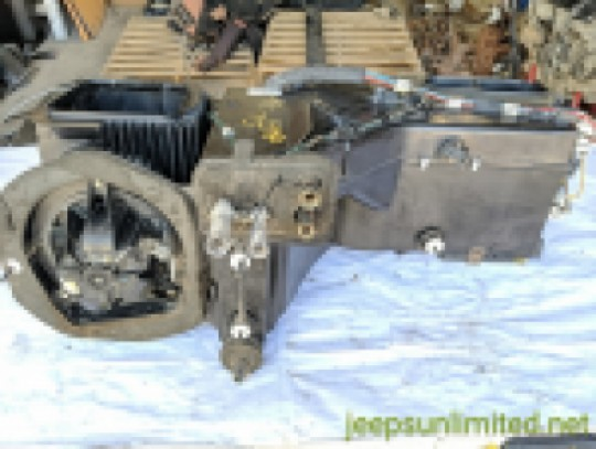 A/C Heater Box Upper and Lower Assembly with Air Conditioning 97-98 TJ 4864947AB 04864947AB