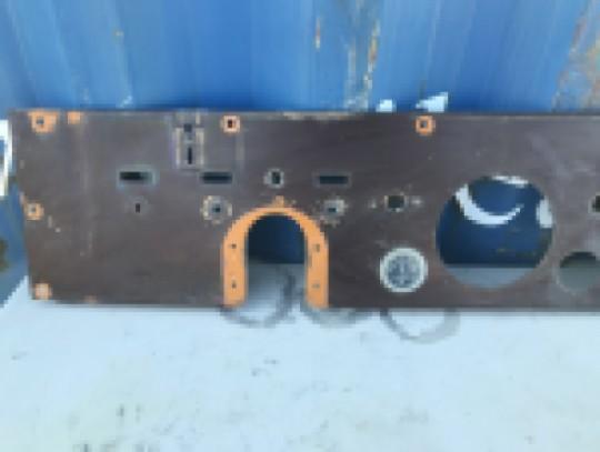 Instrument Gauge Metal Dash Panel Brown