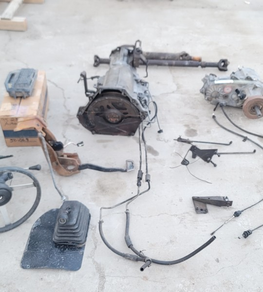 2.5L Automatic Transmission 30RH Lock Up Conversion Bolt In Kit 91-95 Wrangler YJ