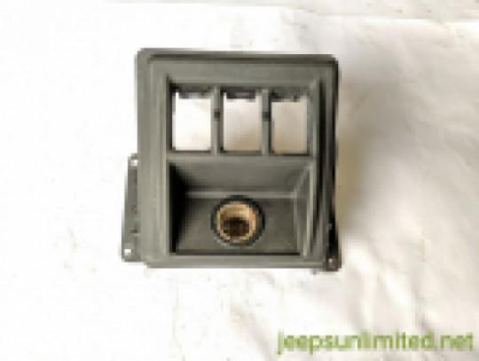 Cigarette Lighter Toggle Switch Bezel Power Outlet Center Dash Trim 97-02 TJ 56007314AD