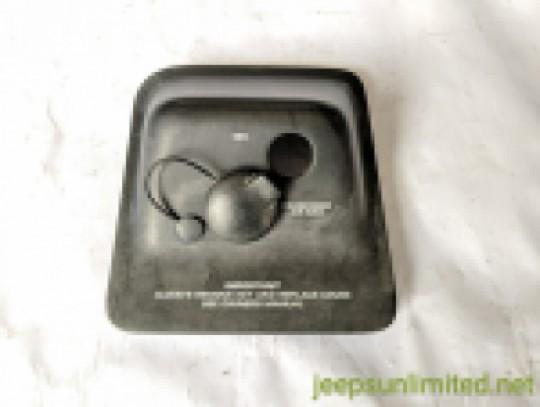 Passenger Side Air Bag Disarm Switch Bezel Center Console 97-2000 TJ 5GL51DX9AB