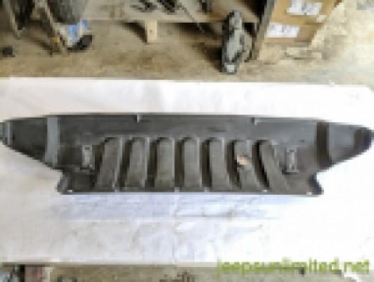 Front Air Dam Lower Bumper Black Plastic Cover Trim Mopar 07-18 JK 1BE95XXXAD