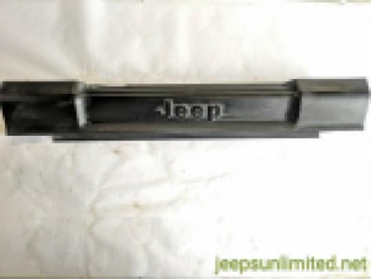 Front Bumper Sway Bar Cover Black Trim Bezel OEM 97-06 TJ LJ 55155667AG