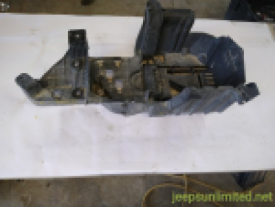 Battery Tray Bracket Mount 3.8L V6 07-11 JK