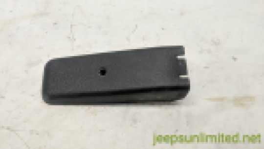 jeep wrangler yj tailgate contact button cover
