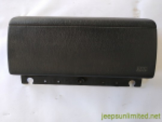 Passenger Air Bag Door Cover Black Agate Dash 04-06 TJ LJ 55314982AF