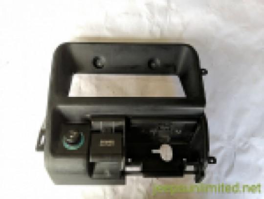 Lower Dash Ashtray Cigarette Lighter and Power Outlet Bezel Trim 96-98 ZJ 55115113