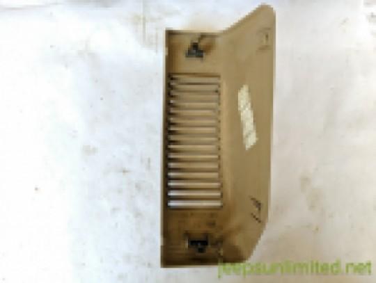 Tan Speaker Bezel Left Driver Side Instrument Dash Panel 97-02 TJ 5DP17RK5