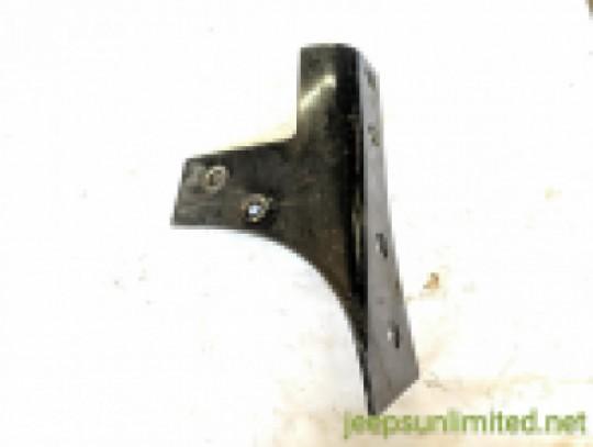 Left Windshield Frame Reinforcement Bracket Driver Side Black 07-18 JK 55395579AD
