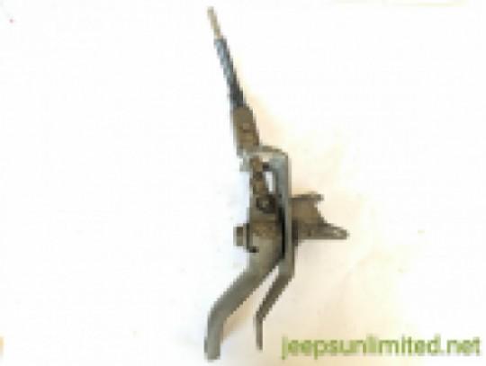 Transfer Case Shifter Bracket 5 Speed Manual AX15 4X4 4.0L 92-95 YJ 52077656