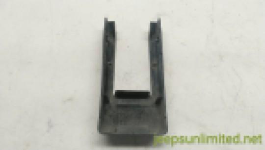 Tailgate Hinge Cover Black Plastic Trim Outer 04-06 TJ LJ 55395195AB