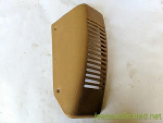 Saddle Tan Speaker Bezel Left Driver Side Instrument Dash Panel 97-02 TJ 55115189