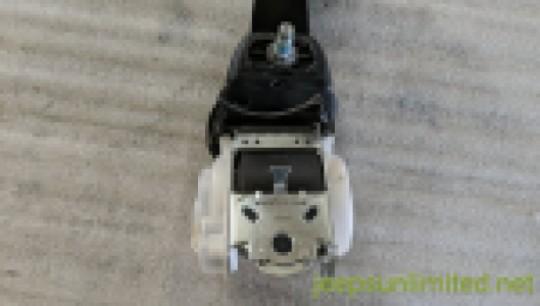 Rear Seat Belt Shoulder Retractor Outer Mopar Left Driver Side 11-18 JK 1UL39DX9AA