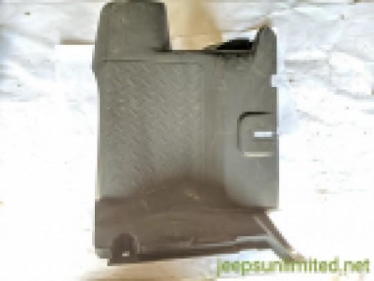 Lower Inner Quarter Panel Passenger Right Side Black Cover 12-18 JK 5XL57DX9AA