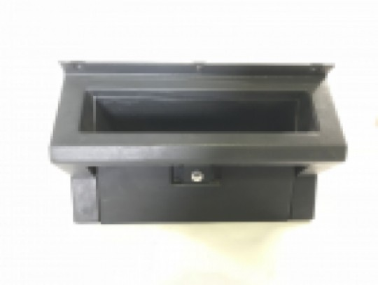87-95 Jeep Wrangler Glove Box Door Latch Gray 55007291 Dash Panel YJ Glovebox ;