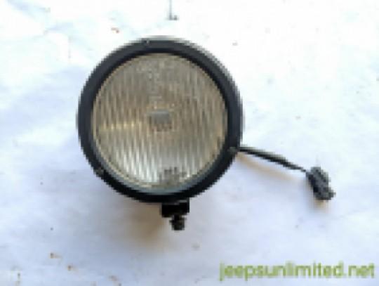 Fog Light with Bracket Front Bumper Factory OEM 2000-06 TJ LJ 55055095AG