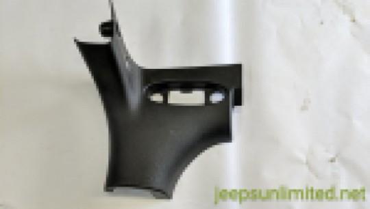 A Pillar Molding Black Plastic Windshield Inside Trim Right Side 1CA74TRMAG