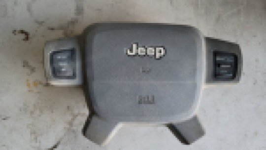 Air Bag Gray Driver Side Steering Wheel with Cruise Buttons 05-07 WK 5JJ281D5AG