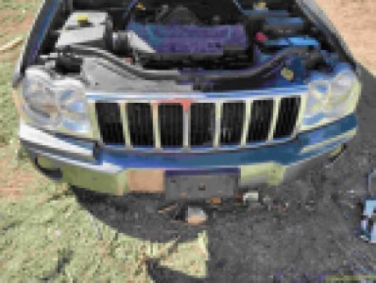 Muffler Exhaust to Rear Tailpipe 5.7L V8 Hemi 52124039AG