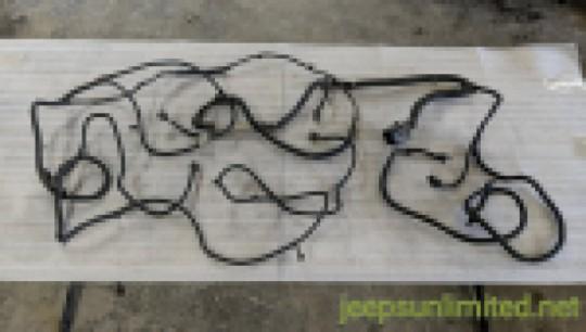 56051554AH Headlight / Headlamp Front Grille Wiring Harness Mopar OEM