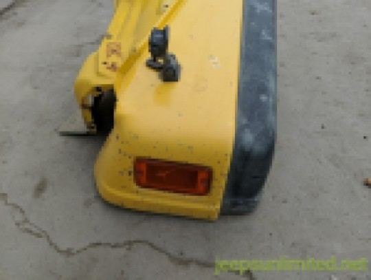 Front Fender Driver Left Side Yellow 97-06 TJ 5003951AC