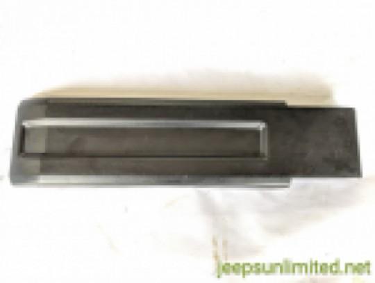 Tailgate Lower Hinge Cover Trim Black Plastic Bezel 07-18 JK 55397091AC