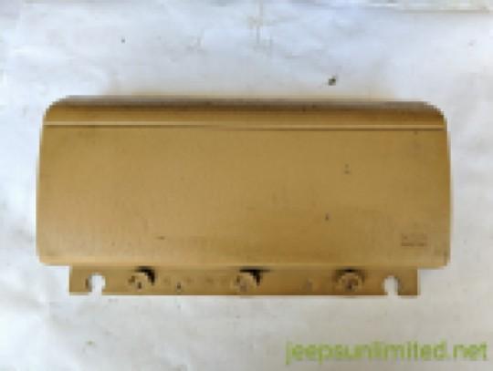 Air Bag Door Cover Saddle Passenger Side Instrument Dash Panel 97-02 TJ 5DU38RT6AC