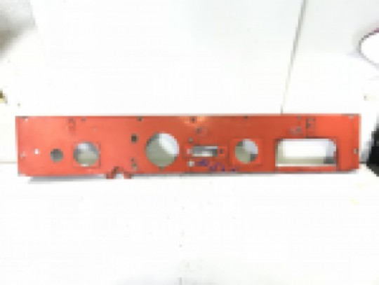 Jeep CJ5 Dash Panel Original Red 1955-1971 Instrument CJ-5 CJ6 No Rust Straight