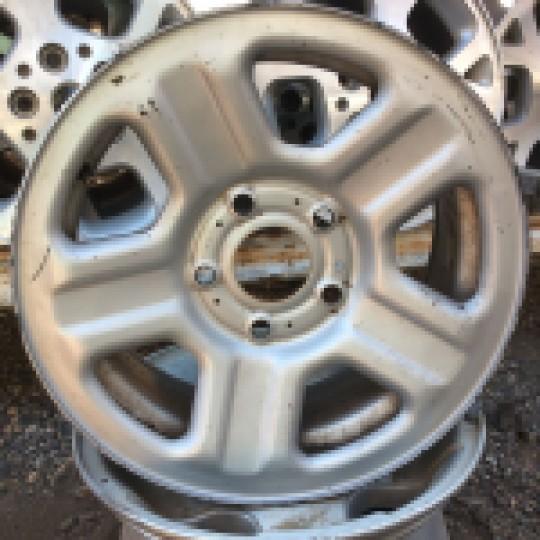 5 Spoke 16 Inch Wheel Factory Steel Silver Rim JK JKU 2007-2018