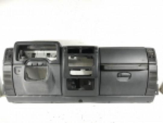 Dash Kit Agate Gray, Black Complete Assembly Trim Bezels Covers TJ ; 1997-2006