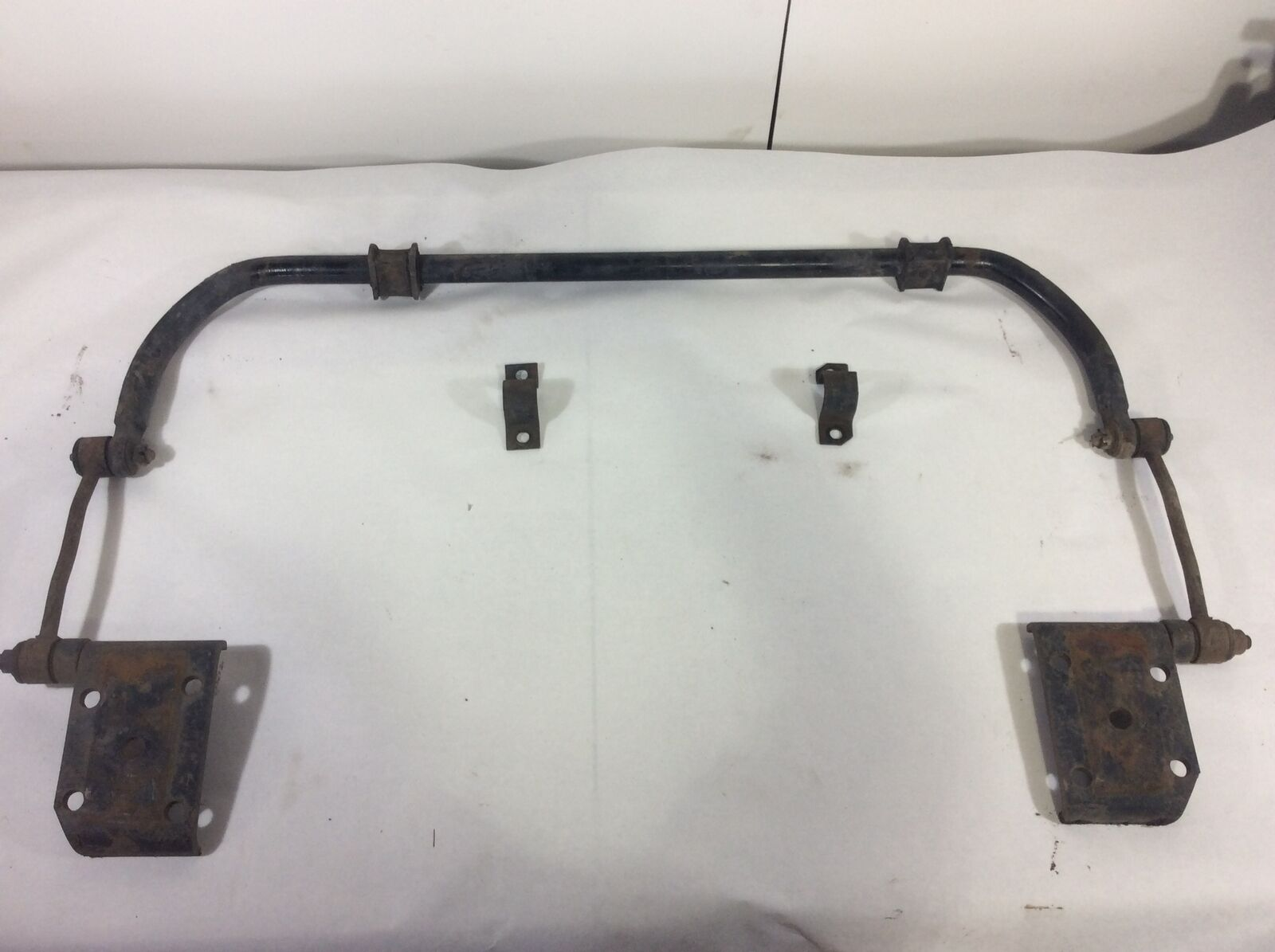 Front Stabilizer Sway Bar Kit with Links and Axle Plates OEM 87-95 YJ 52003142