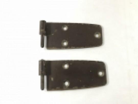 Front Door Hinge Set Upper and Lower Driver Left Side YJ 1976-1995
