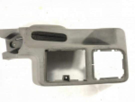 Front Half Center Console Factory Assembly Gray Mist TJ 2001-2006