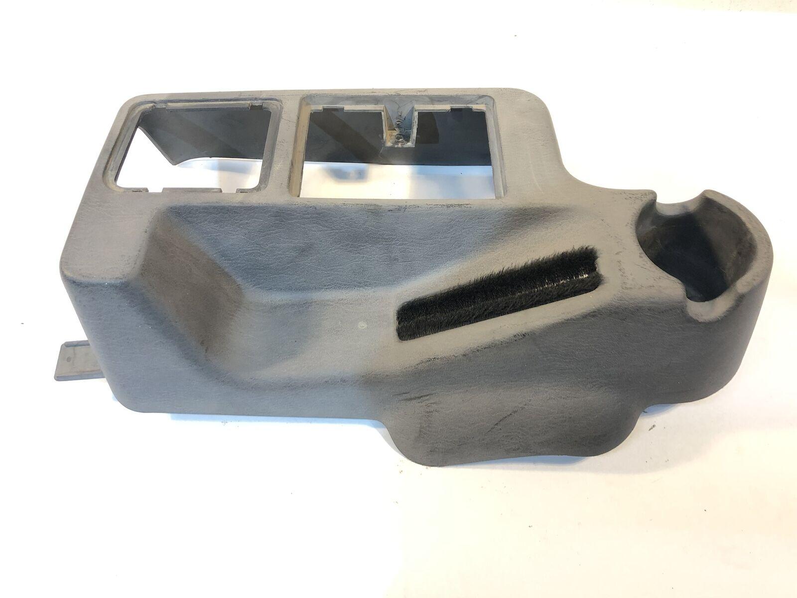 Half Center Console Mini Gray Single Cup Holder Black TJ 1997-2002