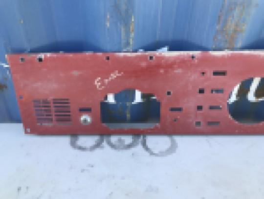 Instrument Gauge Bare Metal Dash Panel Red J5763630