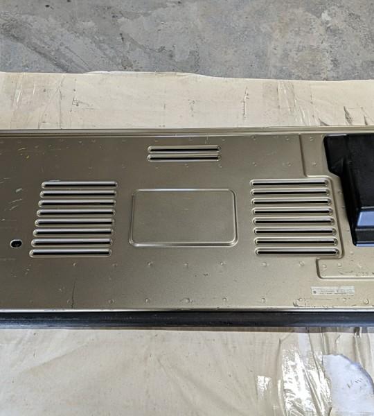 Rear Tailgate Door Beige Color Paint Code PJC with Key TJ LJ 03-06