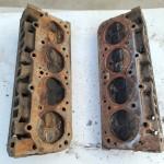 C17A Jeep AMC Cylinder Head core set readt for rebuild 3233344