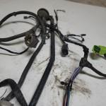 Inside Instrument Panel Dash Wiring Harness Hard Top Loom 2003 TJ 56047108AF