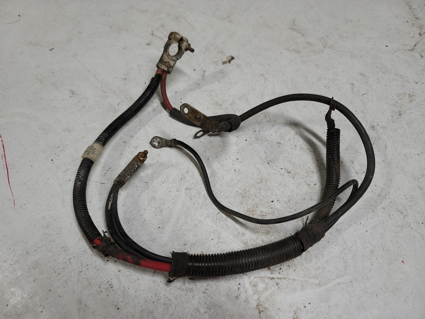 Battery Wiring Harness Positive and Negative Cables OEM 93-96 YJ 56017763