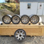 Raceline Set of 5 Wheels Jeep 5x4.5 Lug Pattern Bead Locks 87-06 TJ YJ XJ ZJ