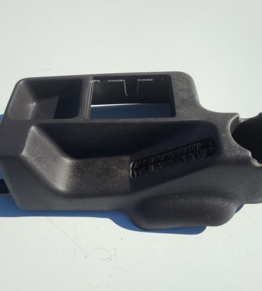 Front Center Console Black TJ 97-06