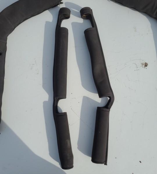 Roll Bar Covers Black TJ 97-02