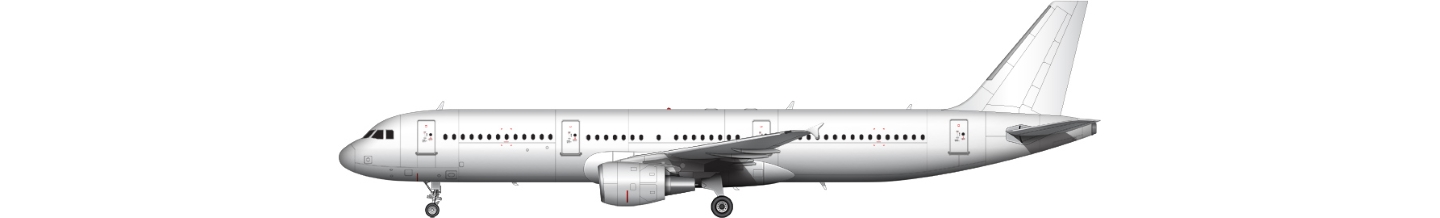 Airbus A321 illustration