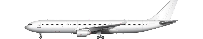 Airbus A330-300 illustration