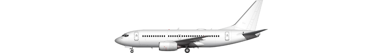 Boeing 737-700 illustration
