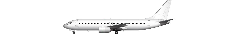 Boeing 737-800 illustration