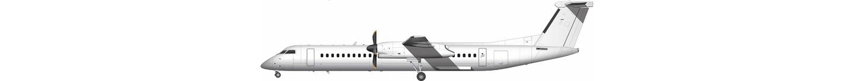 de Havilland Canada Dash 8 illustration