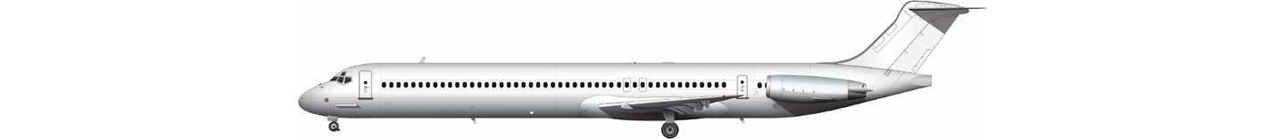 McDonnell Douglas MD-80 illustration