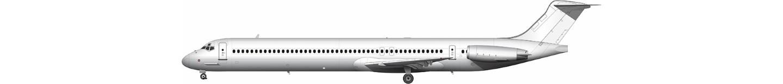 McDonnell Douglas MD-83 illustration